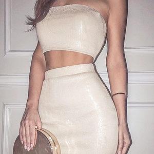 Dresses & Skirts - 2pc Sequin Skirt Set (Pre-Order for Spring)